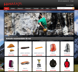 Virtual store Himalaya - study case